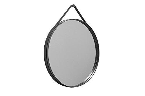 HAY Strap Miroir Anthracite Ø 70 cm