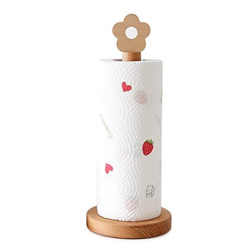 æ— Toallero de madera de papel, dispensador de toallas de papel para encimera, organizador para cocina, sala de estar, dormitorio, decoración del hogar