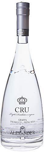 Alexander Cru Grappa Prosecco e Moscato - 700 ml