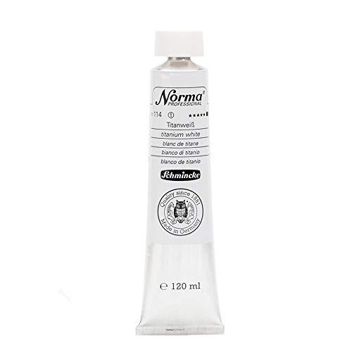 Schmincke Norma Professional, 120ml, Titanweiß [Spielzeug]