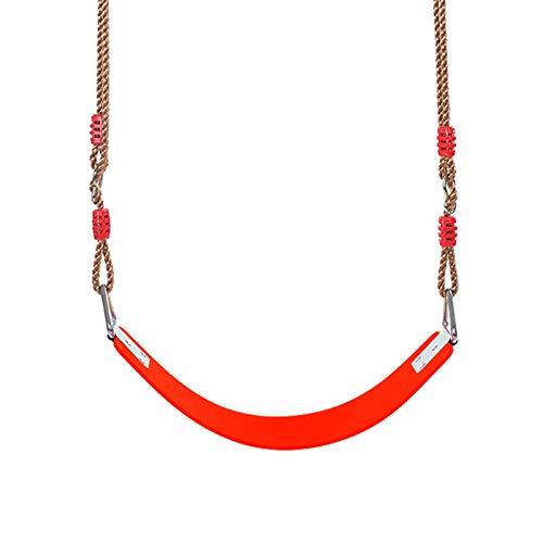 Columpio Silla de Swing de jardín al Aire Libre Ajustable de Tablero Suave para niños, fácil de Transportar, con Kit de instalación (Color : Style1)