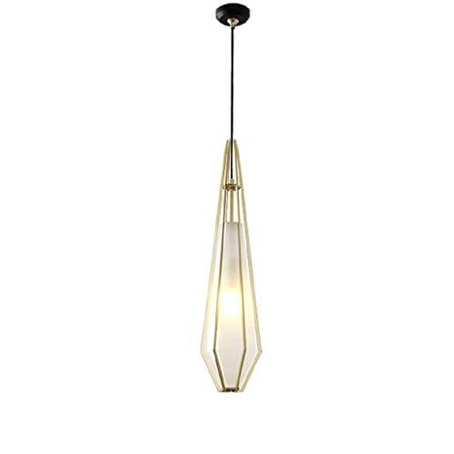FFLJT Mini luz pendiente moderna miel Art Glass Fixture for la Isla de cocina Comedor