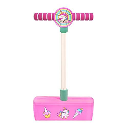 Fome Pogo Jumper for Kids Fun y Safe Pogo Stick, espuma duradera y jersey Bungee para mayores de 3 años y hasta juguetes para niños pequeños, deportes Early Toy Toy Soporta hasta 250 libras