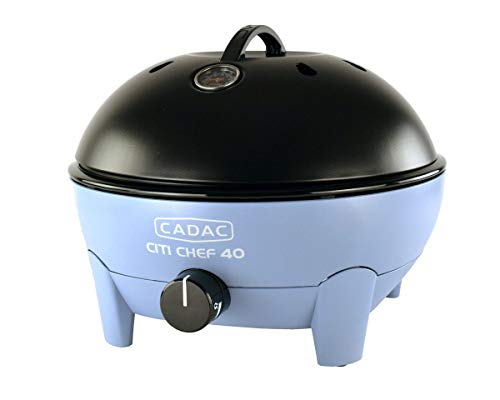 Cadac Citi Chef 40 Table Top Portable Gas Barbecue Sky Blue