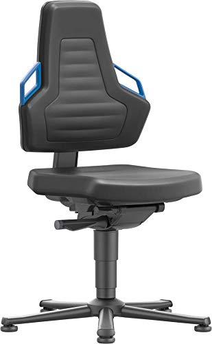 bimos Stuhl/Bürostuhl Nexxit 1 Gleiter Schaum Griff blau