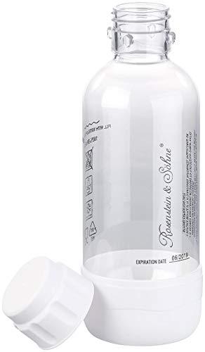 Rosenstein & Söhne Zubehör zu Soda-Sprudler: PET-Flasche für Getränke-Sprudler WS-300.multi, 0,5 Liter, BPA-frei (Soda-Sprudler mit Wasserflasche)