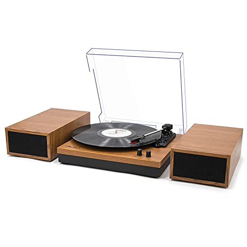 Bluetooth Turntable with Speakers