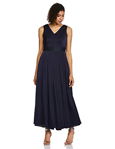 AND Women's Synthetic Maxi A-Line Dress