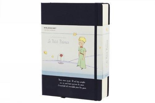 Moleskine GBLEPETIT Geschenkboxen der kleine Prinz inkl. Notizheften, Postkarten, Sticker blau