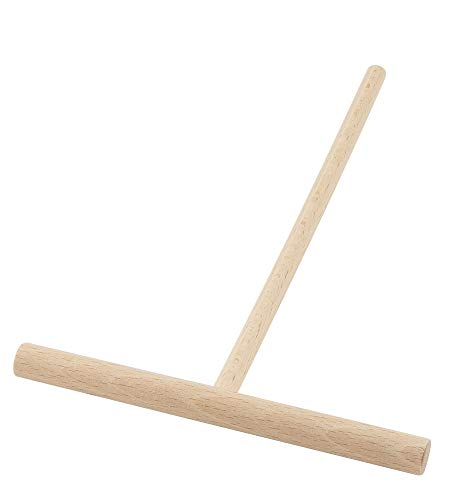 5.5- Inch Crepe and Pancake Batter Spreader. Made of Beechwood. By BICB