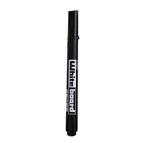 pennarello per lavagna - TOOGOO(R) 20 x Consiglio indicatore di whiteboard pennarello lavabile nero