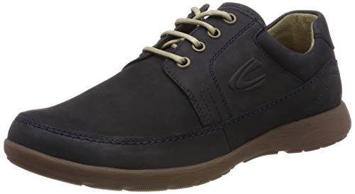 camel active Folk 11, Herren Derby, Blau (Midnight 1), 41 EU (7.5 UK)