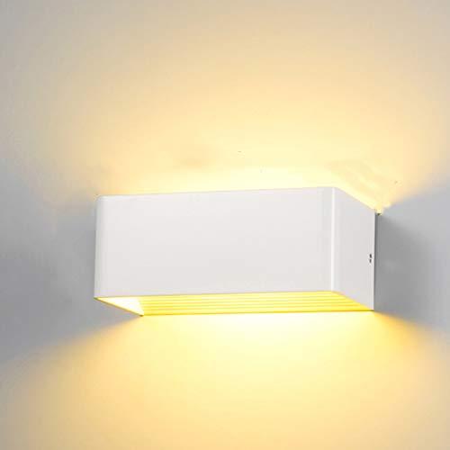 YDZM Wandleuchte Moderne Led Wandleuchte Outdoor Wasserdichte Wandlampe Schlafzimmer Nachttischlampe Wohnzimmer Treppe Gang Dekoration Lampe Innenbeleuchtung