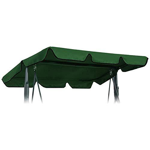 Bobotron - Funda de repuesto para silla de balancín (impermeable, 190 x 132 x 15 cm), color verde