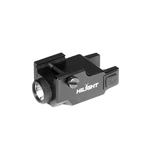 HiLight P3X 500 Lumen Rechargeable Strobe LED Flashlight for Sub-Compact Pistols