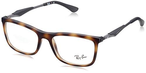 Ray-Ban Herren RX7029-5200-53 Sonnenbrille, Braun (Havana), 53