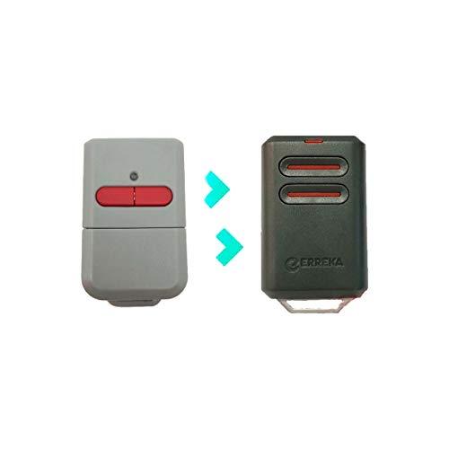 ERREKA KUMA KU02 De 2 Botones Canales 433 MHz Compatible Con Erreka Luna Y Reson Nuevo Modelo Más Resistente