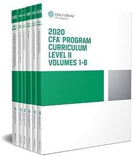 CFA Program Curriculum 2020 Level II Volumes 1-6 Box Set (CFA Curriculum 2020)