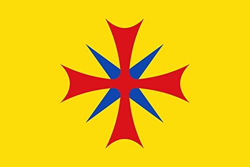 magFlags Bandera Large Santa Llogaia d Àlguema Gerona | Bandera Paisaje | 1.35m² | 90x150cm