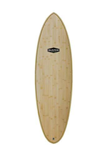 Buster Tabla de Surf Wood Bamboo Hybrid Nose 6'1
