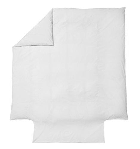 Blanc des Vosges Housse de Couette Marquise Blanc 240 x 220 cm - Percale 100% coton