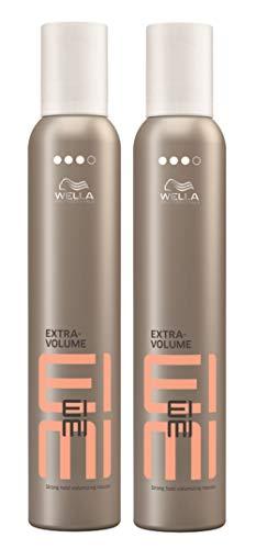 Wella 2x EIMI Extra Volume Volumen Schaum Starker Halt 300 Ml