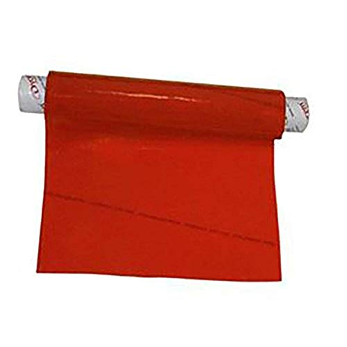 """Dycem-74020 Bulk Roll Matting, 8"""" x 2 yd. Roll, Red, Non-Slip Material Helps Improve Stabilization & Gripping, Holds Plates & Bowls in Place, Grip Jars When Opening, Cabinet Liner, Exercise Mat, More"""