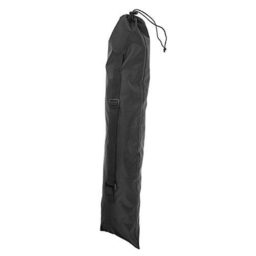 Sharplace Sac Bâton de Marche Poche Accessoire Randonnée Housse de Protection Bâton de Randonnée - Noir, 71x17.5cm
