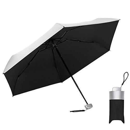WXGY Mini Paraguas Plegable, sombrilla de Titanio Ultraliger