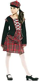 EUROCARNAVALES Disfraz de Escocesa para niña