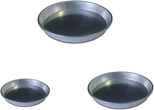 PARTY STORE WEB BY CASA DOLCE CASA Set mit 5 Förmchen für Backbleche aus Aluminium für CDC Süßigkeiten (5 Glieder 22 cm Durchmesser)