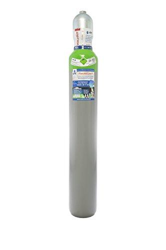 Druckluft 10 Liter Flasche,Pressluft 200 bar/NEUE Gasflasche (Eigentumsflasche), gefüllt - 10 Jahre TÜV ab Herstelldatum, EU Zulassung - Globalimport