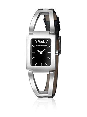V&L Reloj analogico para Mujer de Cuarzo con Correa en Piel VL083601