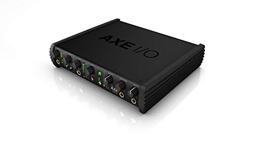 IK Multimedia AX E/A - Audio-Interface 2 Eingänge / 5 Ausgänge, Gitarrensoundformatierung, 117 dB Dynamikbereich, 3 Hz Frequenzgang, Leistungsstarke Anwendungen inklusive