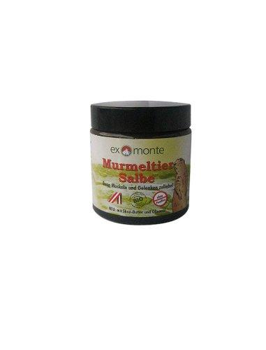 Exmonte Murmeltiersalbe 300ml (3 x 100ml) ohne Paraffine mit Sheabutter & Olivenöl, Ihren Muskeln & Gelenken zuliebe