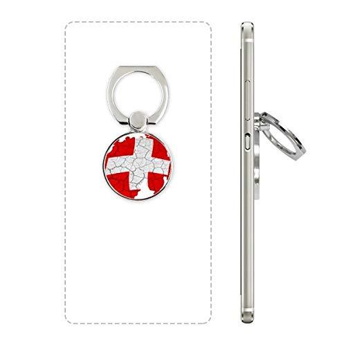 DIYthinker Kaart Zwitserland Abstract Vlag Patroon Mobiele Telefoon Ring Stand Houder Beugel Universele Smartphones Ondersteuning Gift