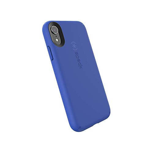 Speck Products CandyShell Fit iPhone XR Case, Blueberry Blue/Blueberry Blue