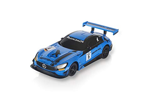 Scalextric-Mercedes AMG GT3 BLANCPAIN #6' Coche Pista, Color Azul (Scale Competiton Xtreme 1)