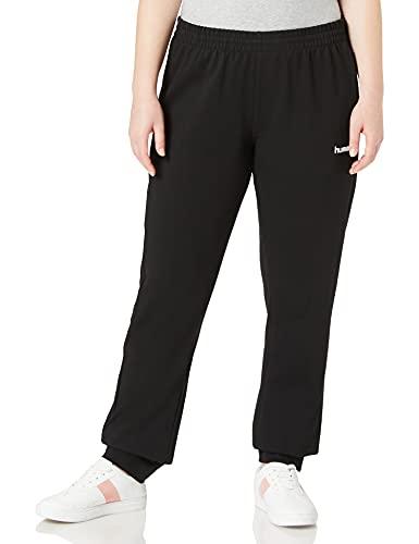 Hummel Damen Hmlgo Cotton Pants Woman Hose, Schwarz, XL EU