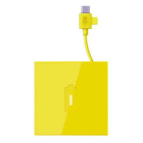 Nokia DC-18 Powerbank Zusatzakku Micro-USB (1720mAh) gelb