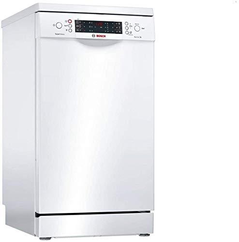 Bosch Serie 6 SPS66TW00E Semi-incorporado 10cubiertos A++ lavavajilla - Lavavajillas (Semi-incorporado, Blanco, Slimline (45 cm), Blanco, Botones, LED)