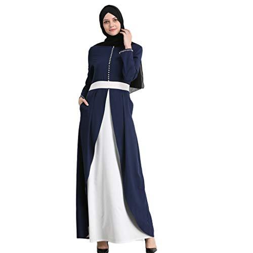 Deelin damesjurk, modieus, elegant, muzikale jurk, parels, decoratie, Arabisch, abaya, caftan, elegant, eenvoudig, patchwork, ismisch, dames, feestjurk