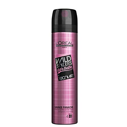 L'Oréal Professionnel Wild Stylers 60`s Babe Savage Panache, 1er Pack (1 x 250 ml)