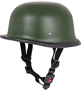 Delhitraderss German Style Motorbike Helmet for Royal Enfield Thunderbird 350 Type 2...