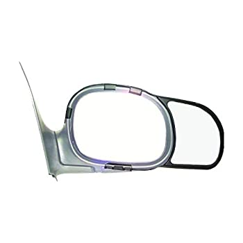 K-Source 81600 Snap-On Towing Mirrors For Select Ford/Lincoln Models Black Standard