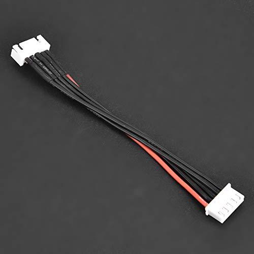 LiPo Akku Balance Ladegerätkabel, 2S 3S 4S 6S Balance Ladegerät Stecker Draht / Stecker 22AWG 100mm Balancer-Kabel Ladegerät Anschluss( 4S)
