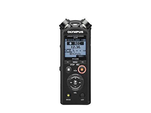 Olympus, LS-P4 PCM e FLAC Musica e Registratore Vocale, Memoria da 8 GB, Slot MicroSD, USB, Bluetooth