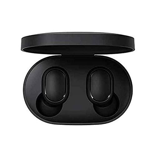 Xiaomi Mi True Wireless Airdots Earbuds Basic Auriculares Inalámbricos Bluetooth 5.0 - Sonido Binaural (Estéreo) HI-FI Estuche de Carga Magnética Micrófono 15h Autonomía IPX5 - Certificado CE Negro