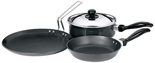 Hawkins Futura Non-Stick Cookware Set, 4 Pieces (QS1)