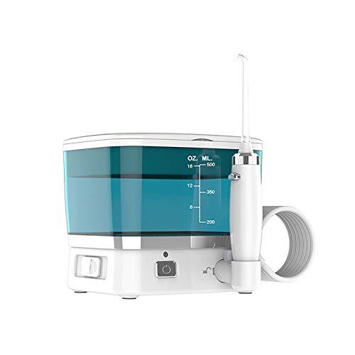 WaterJet Munddusche Flosser - Reisemundduschen, Oral Irrigator Dental Cordless Elektrische Wasserdicht, Oral Wasserreiniger Kabellos, Zahnzwischenraumreinigung Interdentalreiniger Elektrisch